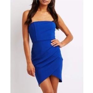 NWOT Charlotte Russe Strapless Bodycon Dress